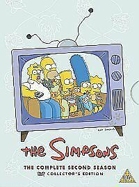The-Simpsons-Series-2-Complete-DVD-2002-4-Disc-Set