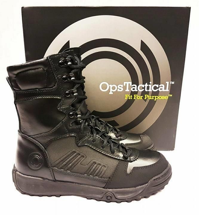 OPS TACTICAL CT schwarz LEATHER  COOLMAX ASSAULT Stiefel ANTISTATIC WARM COMFORTABLE