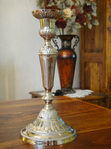 Kerzenleuchter Jugendstil Kerzenhalter Antik Silber Barock Kerzenständer Edel