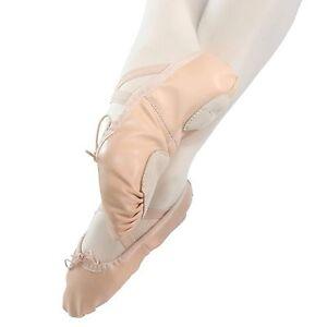 Danzcue-Child-Split-Sole-Leather-Ballet-Dance-Slipper