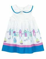 Gymboree Beach Cabana Dress 0 3 6 9 12 18 Mo Hippos And Bows