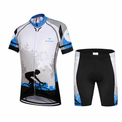 Children Bike Clothing Kids Summer Cycling Jersey and Shorts Padded Sets S-XXXL