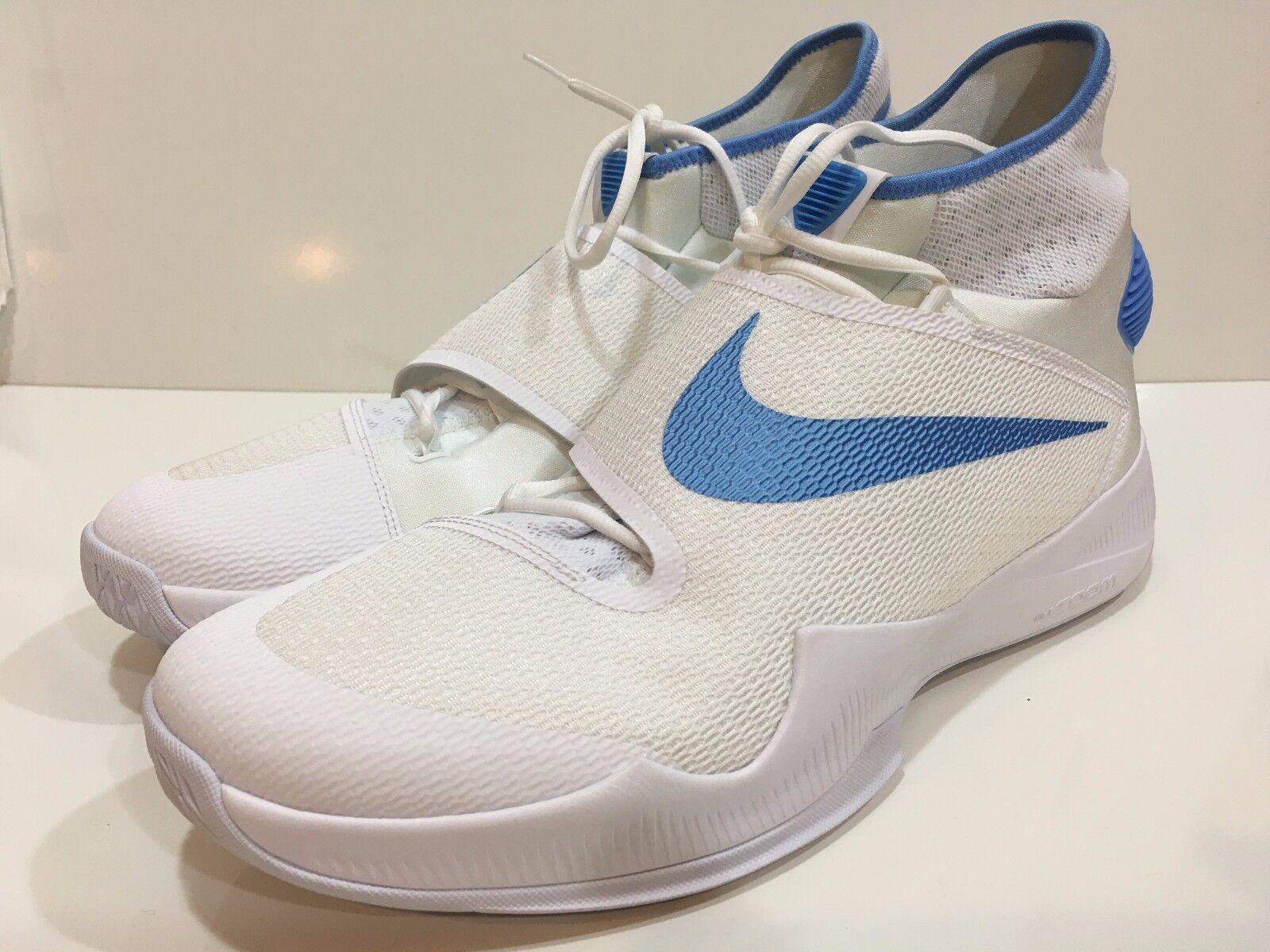 Nike Zoom Hyperrev Men's Basketball Athletic White / Blue Shoes Comfortable