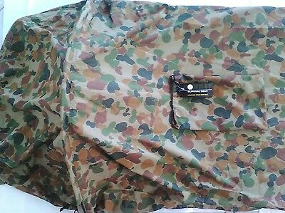 TACTICAL AUSCAM BIVVY BAG LARGE 232X107X82CM 3 LAYER WATERPROOF BREATHABLE