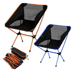 Image Is Loading Lightweight Folding Camping Chair  Fishing Hiking Beach Portable