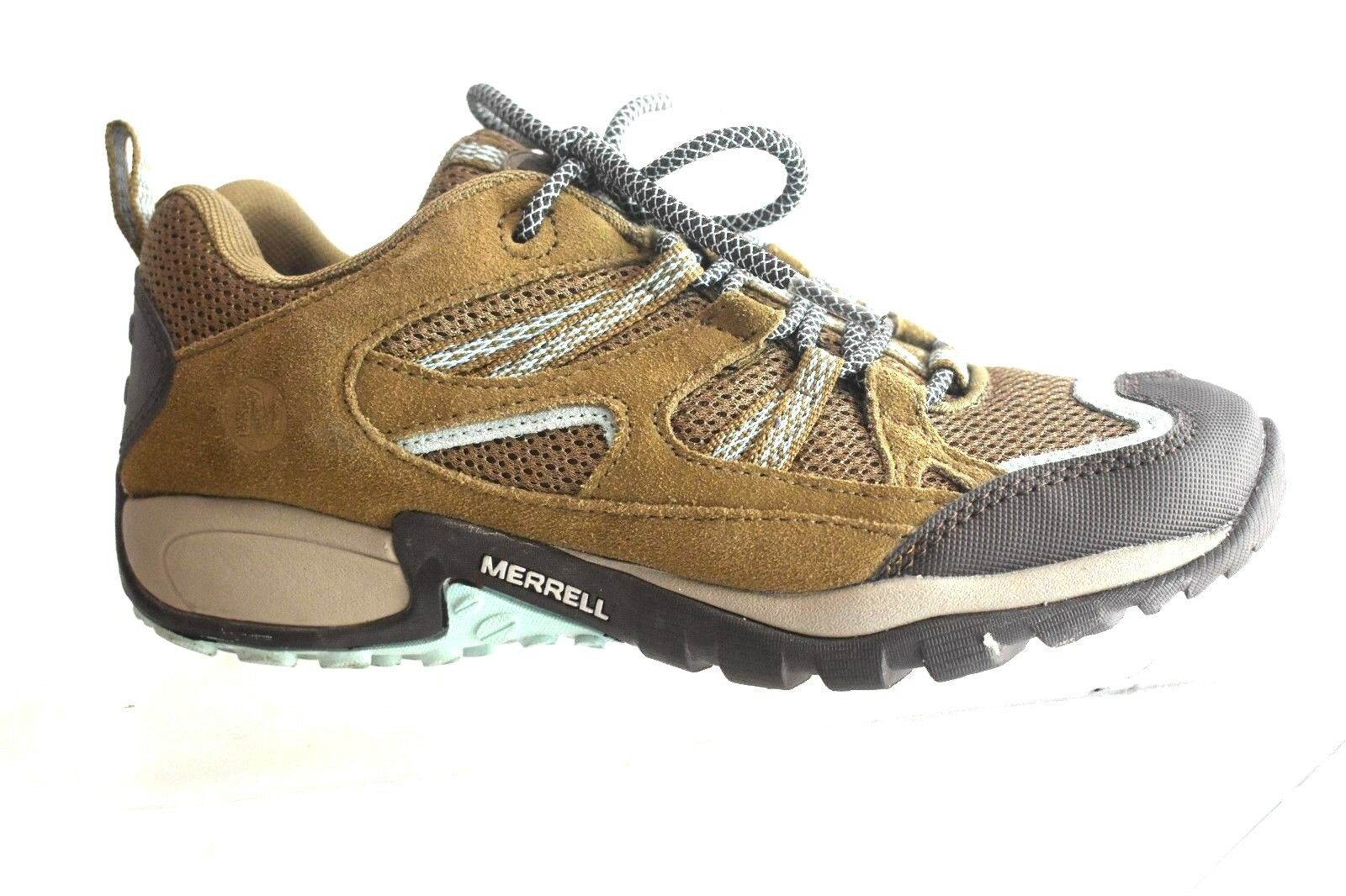 AUTHENTIC Merrell  Suede  Mesh Air Cushion  Oxford shoes SZ 7 M