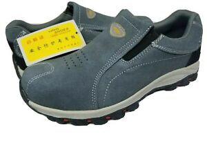 AOX-SteelToe-Safety-Men-039-s-Slip-on-Work-Shoes-Size-US-9-5