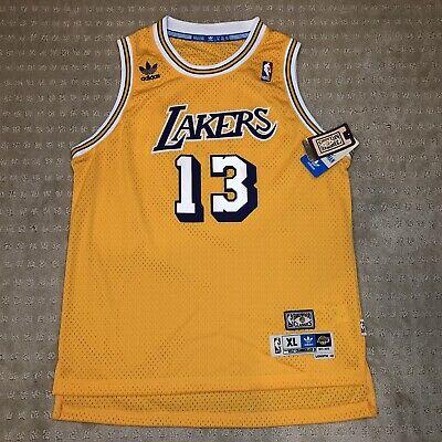 adidas Youth LA Lakers Wilt Chamberlain #13 HARDWOOD CLASSICS Jersey Sz:YXL | eBay