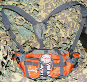 Advanced- Outdoor First Aid Kit (OFAK) Tactical Trauma Survival Bag - Stocked