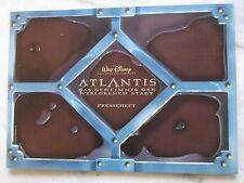 ATLANTIS - DAS GEHEIMNIS DER VERLORENEN STADT -  Presseheft - Walt Disney
