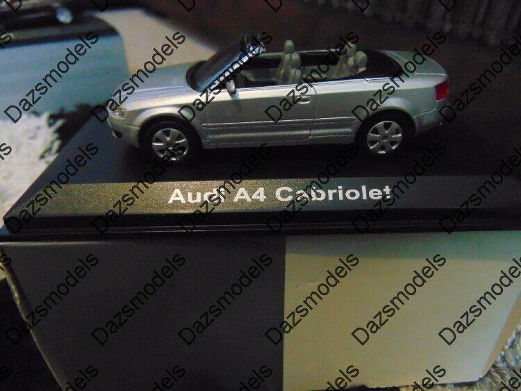 Norev Audi A4 Cabriolet Plata 1 43 20000001122001 edición del distribuidor