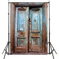 Retro Door Vinyl Background Photography Studio Photo Props Backdrop 5x7ft Pj110