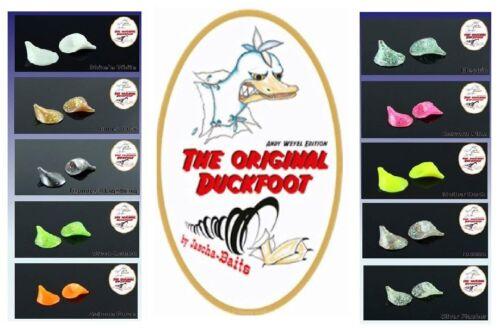 The Duckfoot das Original der Forellen Köder zum Schleppen mit Sbirolino