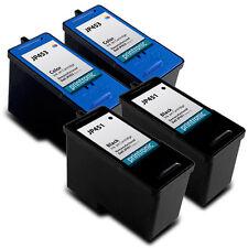 4 PK Dell JP451 JP453 Series 11 HY Black Color Ink Cartridge V505 948