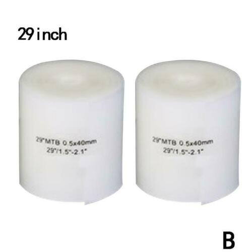 Bicycle Bike Tire Liner Anti-Puncture Tyre Protector Tape 26//27.5//29 inche White
