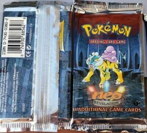 FACTORY-SEALED-1st-Edition-Pokemon-Neo-Revelation-Booster-Pack-BGS-PSA-HOLOFOIL