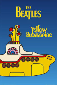 THE-BEATLES-YELLOW-SUBMARINE-24x36-MUSIC-POSTER-Beatles-NEW-ROLLED