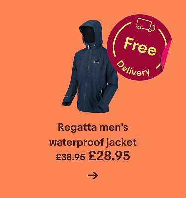 Regatta men's waterproof jacket