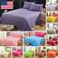 Bedding-Sheet-Bed-Flat-Sheets-Soft-Skin-friendly-Coverlet-Pillowcase-Queen-Size thumbnail 1
