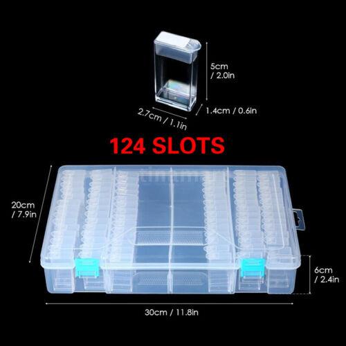 64 Grid Diamond Embroidery Painting Tools Plastic Jewelry Bead Drill Storage Box