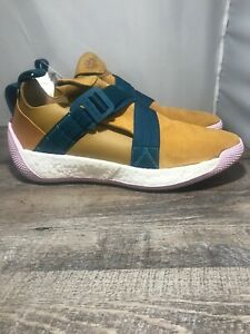 8ca185a4c2f New. Adidas James Harden LS 2 Buckle Mesa Pink Mens Sz.13. Suede ...