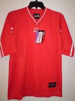 Kelme Soccer Futbol Jersey Short Sleeve (s) Small Red White Brand Nice