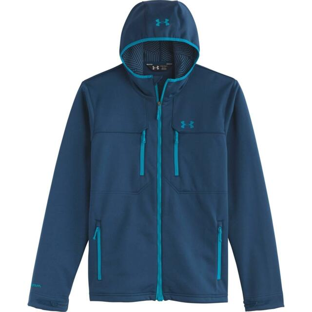 Under Armour Men S Storm Coldgear Infrared Hooded Softershell Jacket