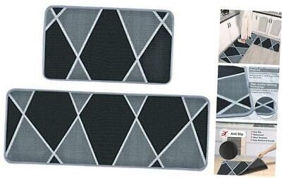 mdrebel kitchen mat set of 2, kitchen rugs non skid