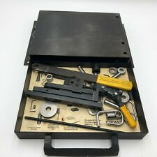 Vintage Duo Mite Hand Bender Model 604 Destaco With Tool Box
