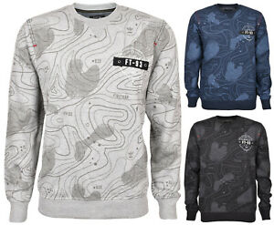 Mens-Jumper-Sweatshirts-Pullover-Crew-Neck-Jersey-Casual-Knitted-Sweater-Top