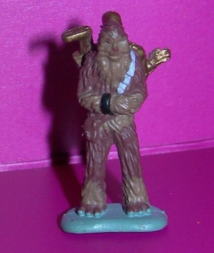 Star Wars Micro Machines CHEWBACCA w// C-3PO Parts BESPIN Cloud City Chewy Figure