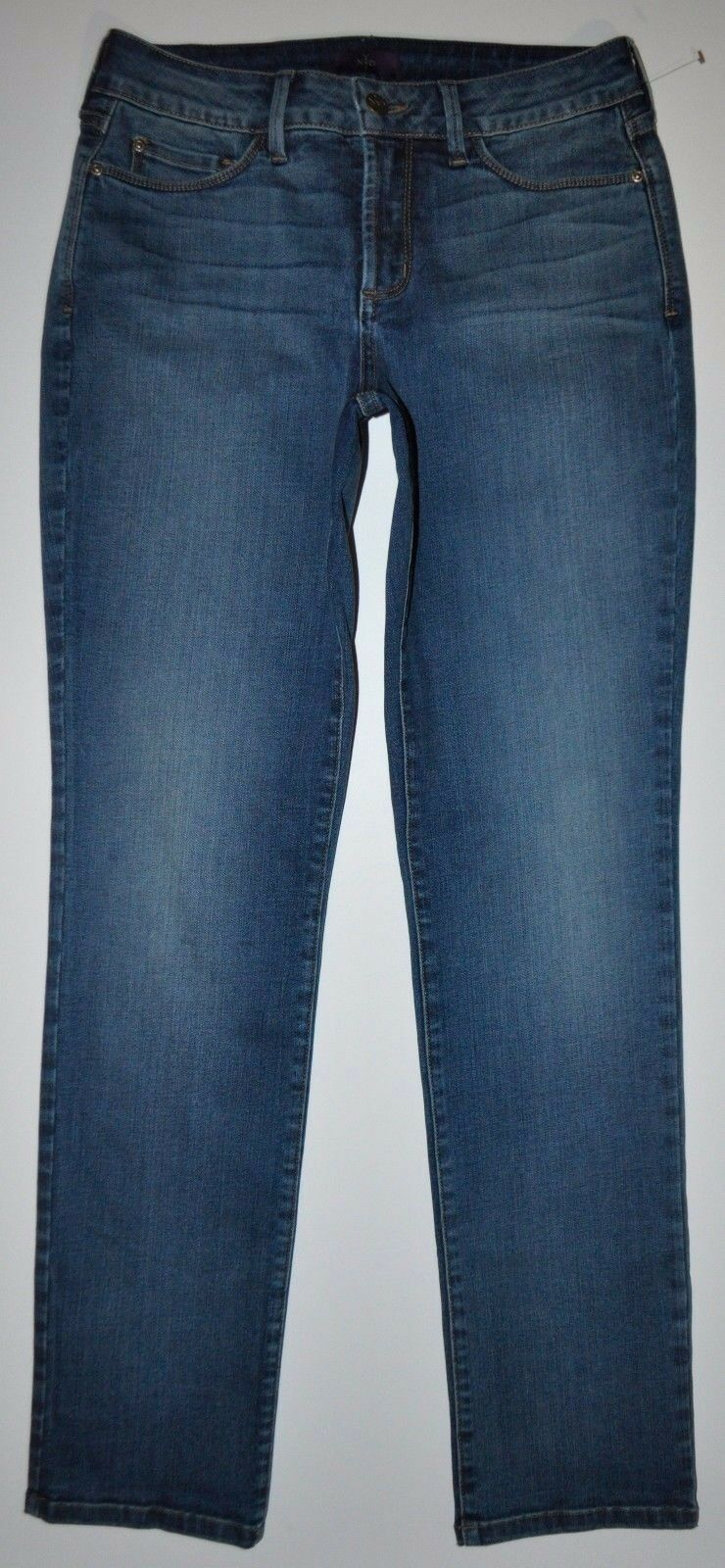 NEW NYDJ Not Your Daughter's Jeans 2 X 30.5 Stretch Slim Straight Bethell Sample