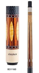 Stryker B31160 Pool Cue Nat w/ Linen Wrap+ Quick-Release Joint+ Joint Protectors