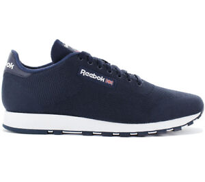 para Reebok Blue Ultraknit Ultk Rbk hombre Cm9877 New Leather Sneakers Cl Classic wUUqX7a