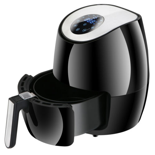 Power Air Fryer Cooker Four Versions for any Home Kitchen Good With Cookbook