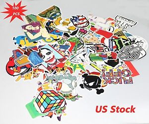 100pcs-Sticker-Bomb-Graffiti-Vinyl-For-Car-Skate-Skateboard-Laptop-Luggage-Decal