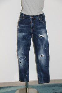 Pretty jeans Slim Short Destroy DSQUARED2 Size 48 I Either 44 Fr Mint