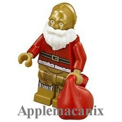 Christmas C3P-0 Santa Custom Lego Figure Brand New!