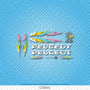 Peugeot Bicycle Decals Set 717 Stickers Transfers