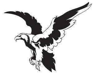 Details about (Nr21) FLYING EAGLE HAWK DECAL VINYL STICKER HOOD WALL WINDOW  TRUCK CAR