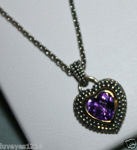 Kay Jewelers 10k Yellow Gold Amp Sterling Silver 925 Purple