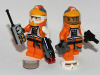 2 Lego Star Wars Rebel Pilot Custom A-wing X-wing Resistance Trooper Accessories