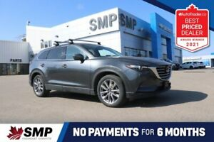 2020 Mazda CX-9 GS-L - Awd -Heated Leather + Steering Wheel, Sunroof, Pwr Lft Gate