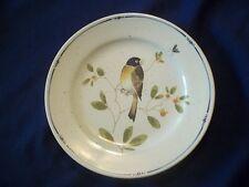 Fitz and Floyd Oiseau Salad Plate  Bird  Blue & Yellow  - 7 1/2 inch