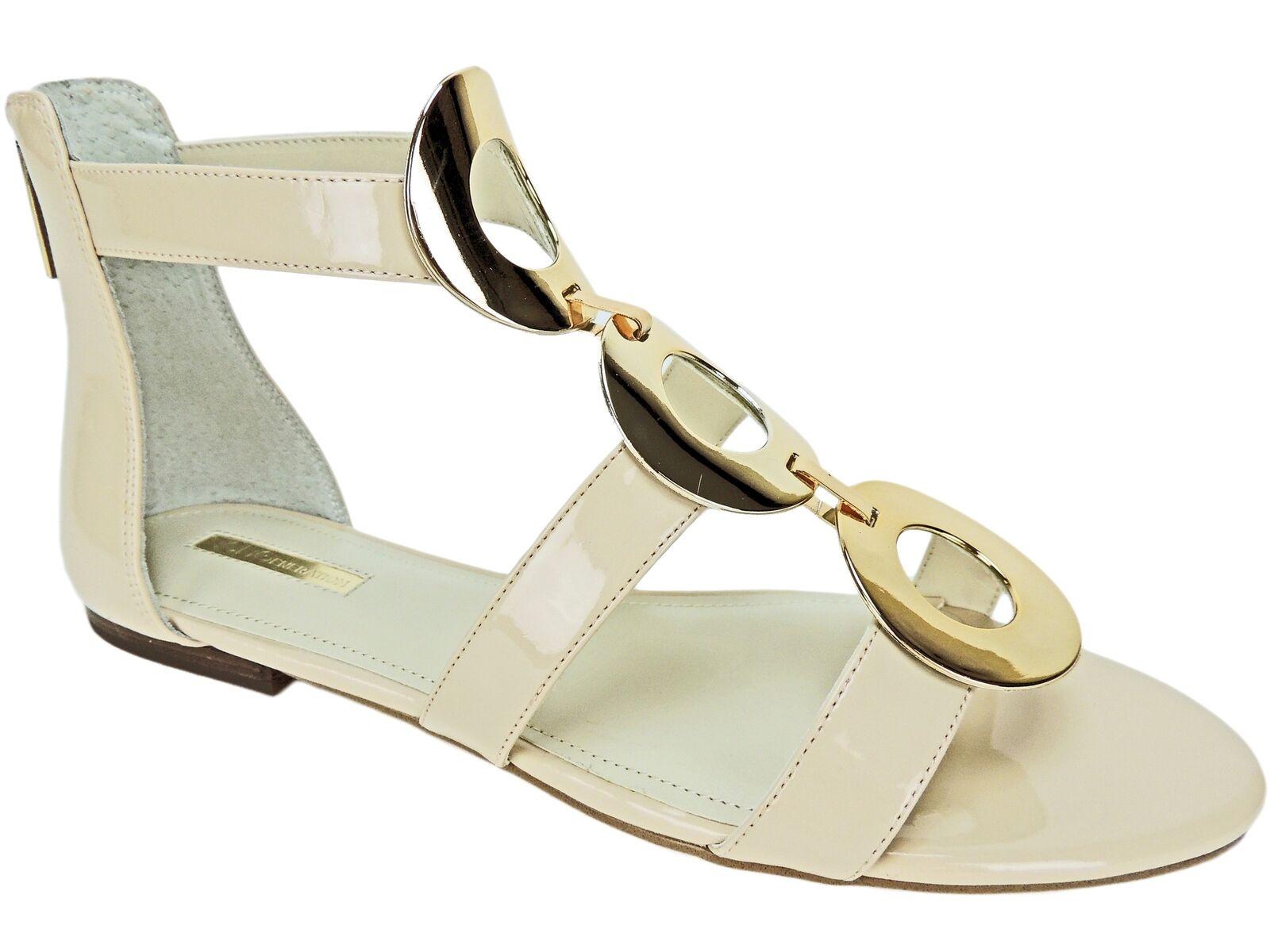BCBGeneration Donna    Faroh Embellished Flat Sandals Nude Blush Dimensione 9 M 834a08