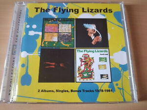 THE-FLYING-LIZARDS-Self-Titled-The-Fourth-Wall-2X-CD-New-Wave-Experimental