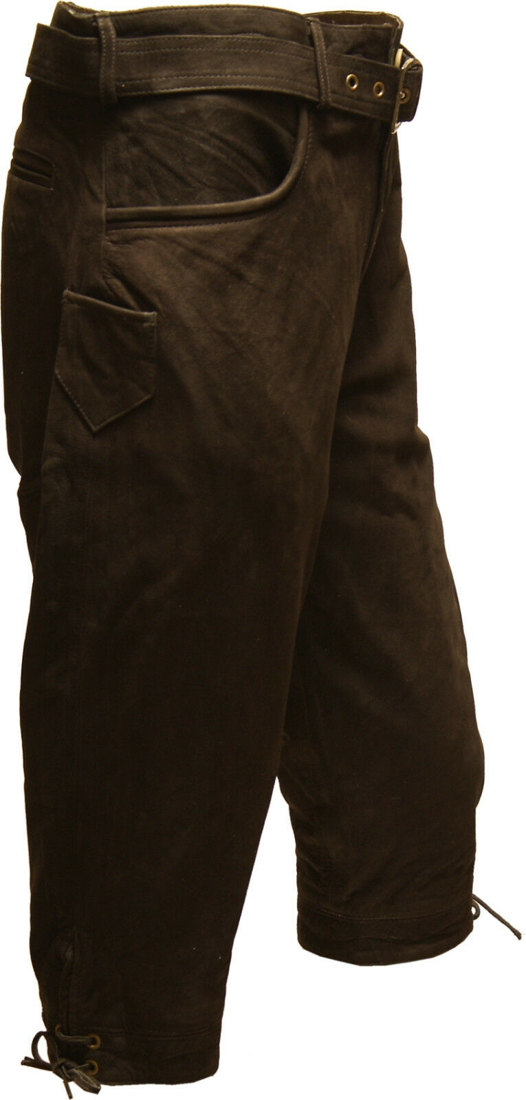 NEUE Kniebundlederhose Lederhose Lederhose Lederhose Outdoorhose Hose dunkel braun b7343e