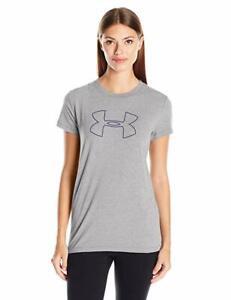 Under-Armour-Women-039-s-Big-Logo-Short-Sleeve-T-Shirt-Small