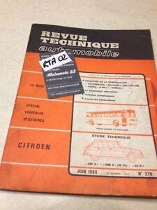 Revision-Fahrzeugtechnik-Citroen-AMI8-Ami6-Ami-6-8-AK-b-Nr-278-Hg-1969