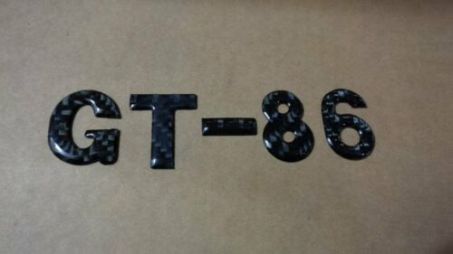 SALE UNIVERSAL STICKER CARBON FIBRE GT-86 FOR TOYOTA 80 FT86